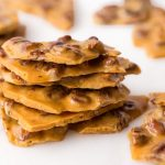 15-Minute Microwave Pecan Brittle - this stuff is crazy good, super easy and, be warned, it's also ridiculously addictive!
