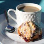 Triple Berry Muffins with Lemon Glaze