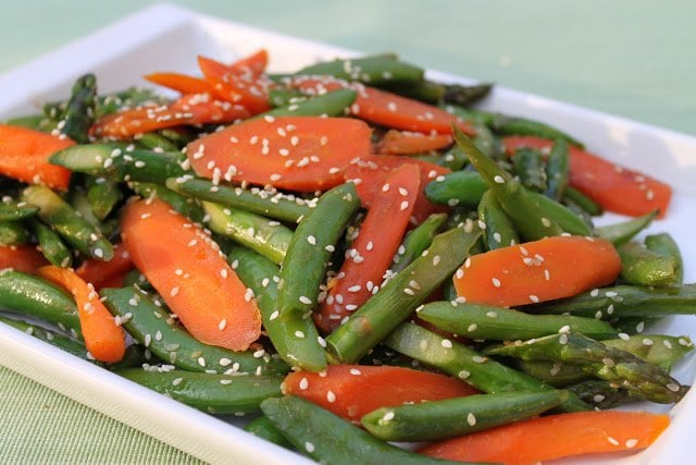 Sautéd Spring Vegetable Medley