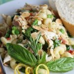 Lemon-Basil Chicken Pasta Salad (Day Three of Lemon Week)
