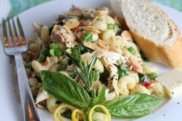 Lemon-Basil Chicken Pasta Salad (Day Three of Lemon Week)