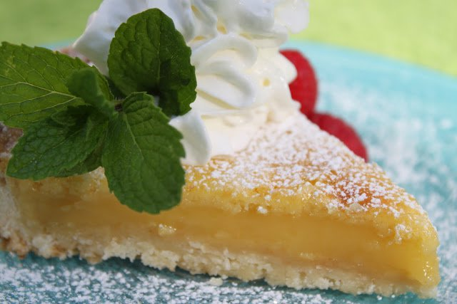 Lemongrass Lemon Tart with Coconut Shortbread Crust (Day Four of Lemon Week)