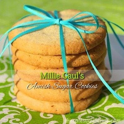 Millie Gaul's Amish Sugar Cookies