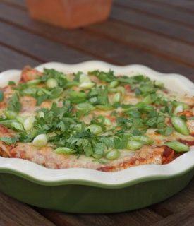 Super Delicious Chicken Enchiladas