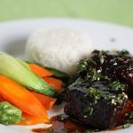 Korean Beef Short Ribs with Perfect Jasmine Rice