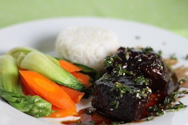 Korean Beef Short Ribs with Perfect Jasmine Rice