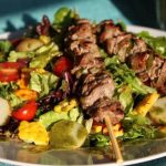 Steak and Sweet Corn Salad with Basil Vinaigrette