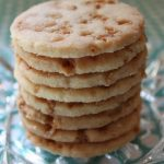 Salted Toffee Shortbread Cookies