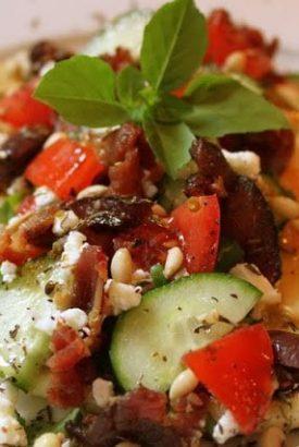 Our Favorite Summer Meal – Mediterranean BLT's
