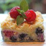 Austrian Raspberry/Blueberry Shortbread