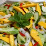 Mango, Cucumber and Sweet Onion Salad