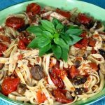 Roasted Tomato and Chicken Pasta