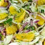 Orange/Fennel Salad and a Little Chef's Birthday Party