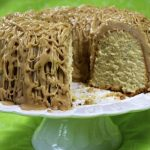 Poppy Seed Pound Cake with Caramel Cascades Icing