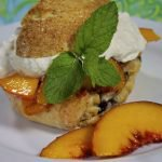 Peach and Cherry Scone Shortcake, a Secret Revealed & a Surprise Give Away!