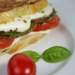 Celebrating YOU!… Paninis Margherita and A Surprise Giveaway!