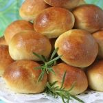 Mari's Marvelous Brioche Buns with Fresh Rosemary