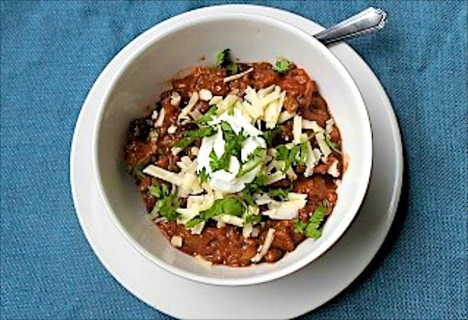 Steak Chili - when you're looking for a heary chili with lots of fabulous steak.