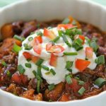 Beef, Butternut and Bacon Chili