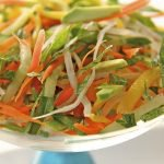Vietnamese Table Salad with Ginger-Sesame Vinaigrette