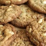 White Chip and Toffee Cookies
