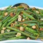 Haricot Verts and Sugar Snap Pea Salad