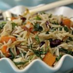 Autumn Fried Rice with Chicken, Butternut Squash & Caramelized Onions