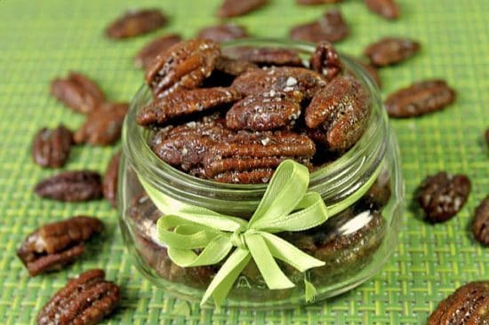 Maple Sea Salt Pecans