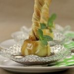 Cider-Poached Puff Pastry Apples