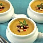 Smokey Cheddar Apple Soup