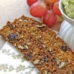 Raincoast Pecan Crisps w/ Raisins and Rosemary