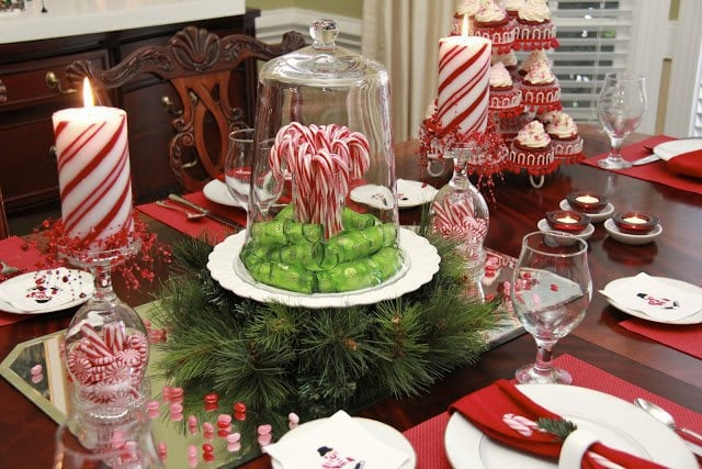 Christmas Holiday Table