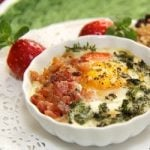 Breakfast is Beautiful Week – Day 1 – Herbed Eggs en Cocotte