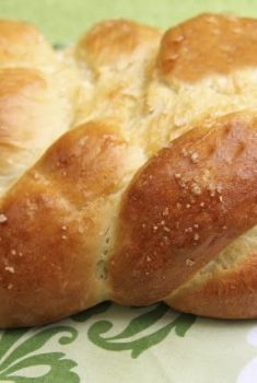 Challah Bread w/ Honey and Sea Salt – the Five Minute Way!