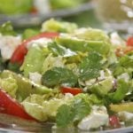 Butter Lettuce & Cilantro Salad w/ Avocados & Meyer Lemon Vinaigrette