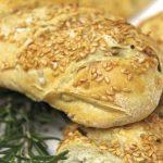 Sunflower Seed & Rosemary Five Minute Artisan Bread