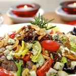 Sliced Steak Salad – Quick & Delicious – a Meal-in-One!