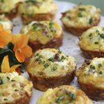 Quiche Bites – in Little Black Dress Attire!