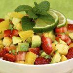 Pineapple-Strawberry-Citrus Salsa