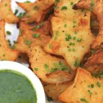 A Secret Recipe – Whimsical Roasted Potatoes with Basil/Chive Dipping Sauce