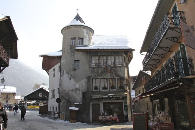 Pictures of Samoens, France on a culinary adventure with The Cafe Sucre Farine