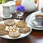 Coconut Shortbread w/ Vanilla Bean Salted Caramel and ………… a Tea Party!