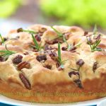 Focaccia with Dried Cherries, Rosemary & Toasted Pecans