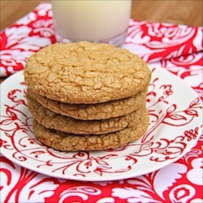 Biscoff Oatmeal Crispies