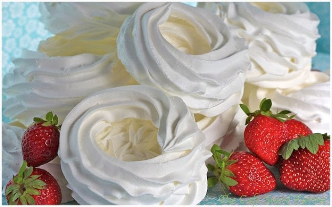 Schaum Torte - A funny name for such a fabulous dessert/confection. It's very light, sweet, delicious and versatile!