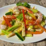 Colossal Shrimp, Mango & Cucumber Salad