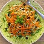 Annie's Carrot & Fennel Salad w/ Fresh Lemon Vinaigrette