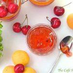 Apricot-Cherry Freezer Jam