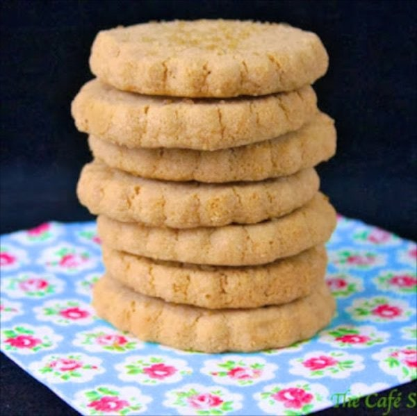 Biscoff Shortbread Cookies are so good! From Belgium, the flavor is slightly gingery, buttery and just plain delicious. You won't eat one, that's for sure!