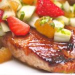 Strawberry-Balsamic Glazed Salmon
